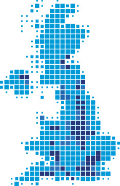 UK Businesses Map
